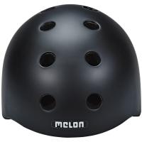 Melon Core Kask rowerowy miejski dirt BMX czarny
