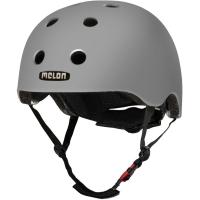 Melon Core Kask rowerowy miejski dirt BMX szary