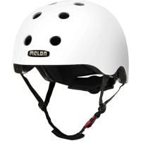 Melon Core Kask rowerowy miejski dirt BMX biały