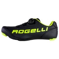 Rogelli AB-410 Buty rowerowe szosowe SPD SL czarno żółte