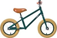 Rebel Kidz Air Classic Boy Steel Rowerek biegowy 12,5 cala ciemno zielony