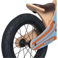 Rebel Kidz Wood Air Holz Rowerek biegowy 12 cali niebiesko pomarańczowy