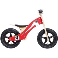 Rebel Kidz Wood Air Holz Rowerek biegowy 12 cali czerwono biały