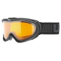 Uvex Comanche LGL Gogle narciarskie black mat lasergold lite clear