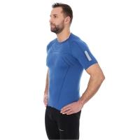 Brubeck Athletic Koszulka męska z krótkim rękawem ciemnoniebieska