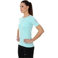 Brubeck Athletic koszulka damska z krótkim rękawem miętowa