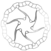 Dartmoor Nano Tarcza hamulcowa 6 śrub srebrna