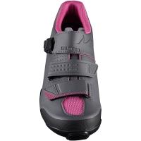 Shimano SH ME300 ME3 Damskie buty rowerowe MTB SPD czarne magenta
