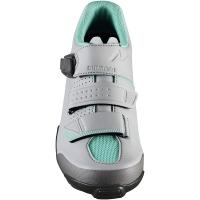 Shimano SH ME300 ME3 Damskie buty rowerowe MTB SPD szary miętowy