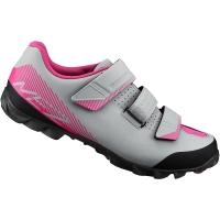 Shimano SH ME200 ME2 Damskie buty rowerowe MTB SPD szaro różowy