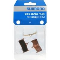 Shimano M03 Klocki hamulcowe metaliczne Deore XT