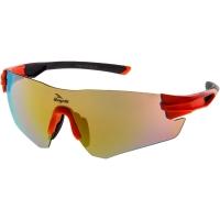 Rogelli Wright Okulary rowerowe pomarańczowe 3 soczewki
