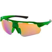 Rogelli Mercury Okulary rowerowe zielony 3 soczewki