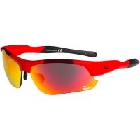 Rogelli Phantom Okulary rowerowe czerwone 3 pary soczewek