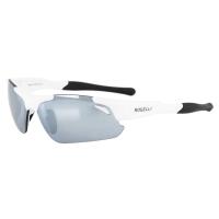 Rogelli Raptor Okulary rowerowe białe 3 pary soczewek