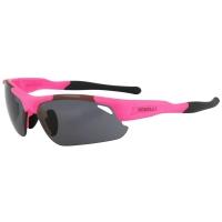 Rogelli Raptor Okulary rowerowe różowe 3 pary soczewek
