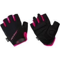 Accent Bella Pro rękawiczki rowerowe damskie czarno różowe