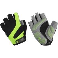 Accent Apex Rękawiczki rowerowe czarno zielone