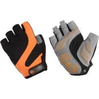 Accent Apex Rękawiczki rowerowe czarno pomarańczowe