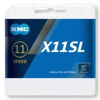 KMC X11SL Ti Łańcuch 11 rzędowy 114 ogniw + spinka złoty