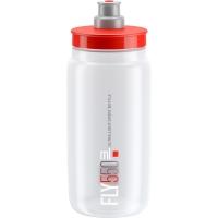 Elite Fly Bidon przeźroczysty czerwony 550ml