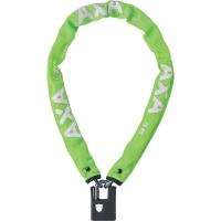 AXA Clinch+ Zapięcie rowerowe łańcuch z kłódką 85cm zielone