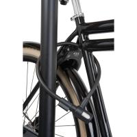 AXA Newton Zapięcie rowerowe 15mm z uchwytem czarne
