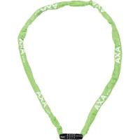 AXA Rigid Code Zapięcie rowerowe linka szyfr 120cm zielone
