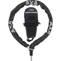AXA RLC Łańcuch do blokady tylnego koła czarny + torba 5,5mm