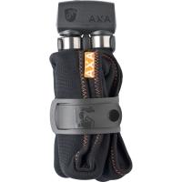 AXA Folding 800 100cm 8mm Zapięcie rowerowe łańcuch z kłódką ciemnoszare