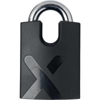 AXA Newton Promoto+ 4 Zapięcie rowerowe łańcuch z kłódką 10,5mm czarne