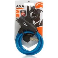 AXA Zipp Zapięcie rowerowe 120cm 8mm z uchwytem niebieskie
