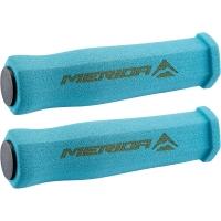 Merida GP-MD032 Chwyty kierownicy piankowe sześciokątne niebieski + korki