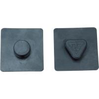 Topeak MTX Beamrack Podkładki gumowe do bagażnika 44 x 42 x 1 mm