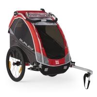 Burley Solo Przyczepka rowerowa dla dziecka jednoosobowa czerwona