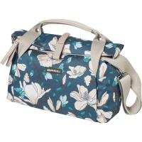 Basil Magnolia City Bag Torba na kierownicę teal blue 7L