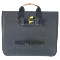 Basil Urban Dry Business Bag Torba rowerowa miejska charcoal melee 20L