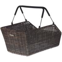 Basil Cento Rattan Multi System basket Kosz na tylny bagażnik brązowy