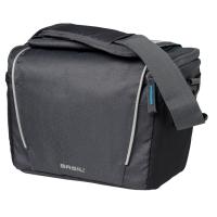Basil Sport Design Handlebar Bag Torba na kierownicę grafitowa