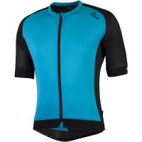 Rogelli Ponza 2.0 Koszulka rowerowa błękitno czarna
