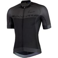 Rogelli Combattivo Koszulka rowerowa krótki rękaw czarno szaro