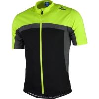 Rogelli Mantua 2.0 Koszulka z krótkim rękawem czarno szaro żółta
