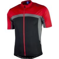 Rogelli Mantua 2.0 Koszulka z krótkim rękawem czarno szaro czerwona