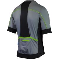 Rogelli Passo Koszulka z krótkim rękawem szaro czarno zielona