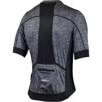 Rogelli Passo Koszulka z krótkim rękawem czarno szara