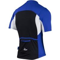 Rogelli Recco 2.0 Koszulka rowerowa niebiesko czarno biała