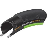Continental Ultra Sport II Performance 700c Opona szosowa zwijana czarno zielona