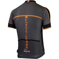Rogelli Umbria 2.0 Koszulka rowerowa letnia szaro czarno pomarańczowa