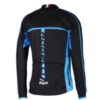 Rogelli Umbria 2.0 Koszulka rowerowa z długim rękawem czarno niebieska