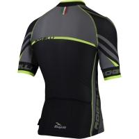 Rogelli Andrano 2.0 Koszulka rowerowa letnia czarno żółta